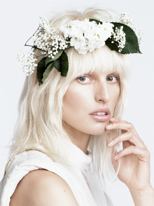 "Karolina Kurkova in ""Karolina in a Dream"" by Nino Muñoz for Numéro Tokyo #67 June 2013"