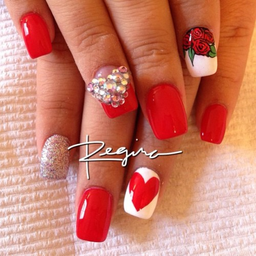 nailsbyregina:  Valentine's Day Ready