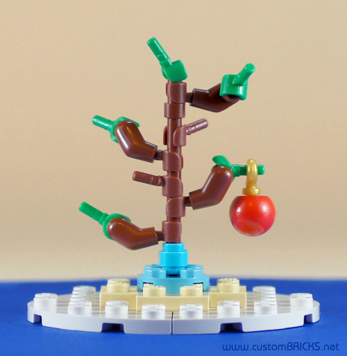 legodiem:  Charlie Brown's Tree (by customBRICKS)