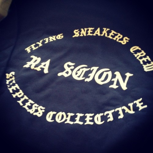 On my way to drop off @RAScion's #FSC x @SLPLSCLLCTV crews for his show with Method Man tonight @Neumos! #Honorary #Family