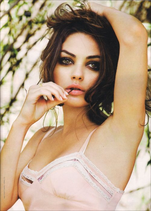 Mila Kunis is on top of the world right now! mila-kunis-is:  Mila Kunis  The Cinema Experience of Actresses and Movies