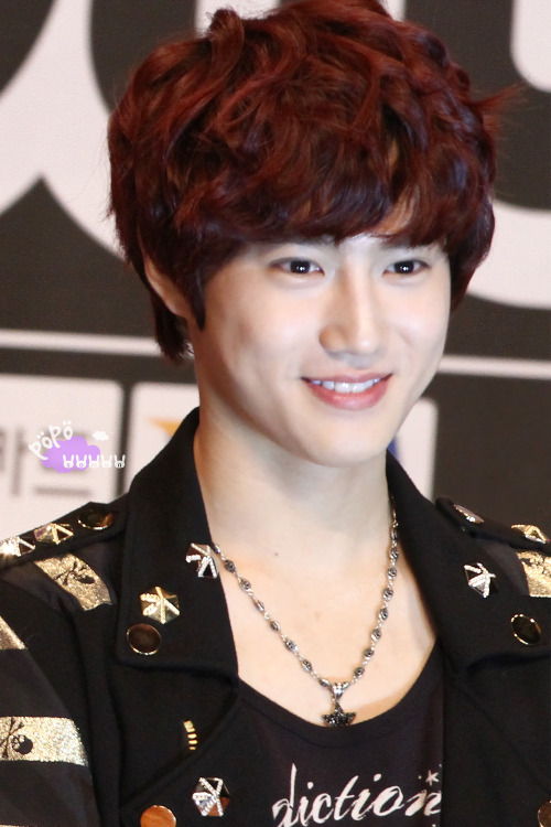 Suho - 120817 SMTown Live World Tour III in Seoul, welcome party Credit: SoMun PoPo.