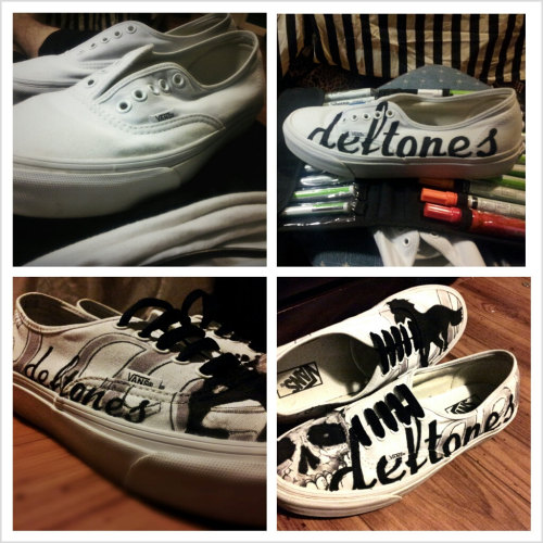 Custom Deftones Shoes