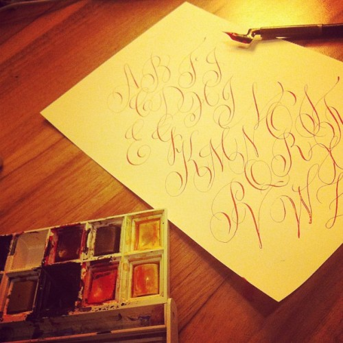 #copperplate #calligraphy