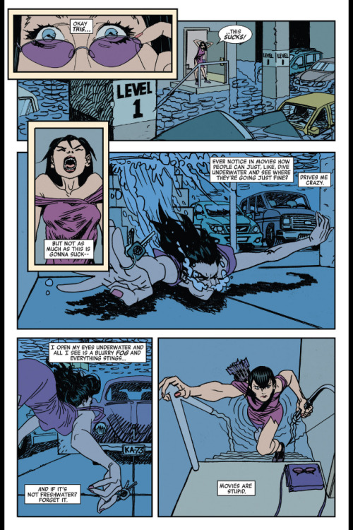 Kate Bishop, everyone.