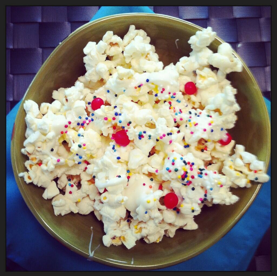 So pretty! Perfect Polka Dot Popcorn from one of our readers. We can't get enough of these pics. Get yours here.