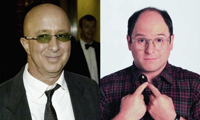 Paul Shaffer as George Costanza? According to Shaffer's memoir, We'll Be Here for the Rest of Our Lives, Jerry Seinfeld personally left a message stating that the role of George Costanza on his upcoming pilot was Shaffer's if he wanted it. But Shaffer was preoccupied with his other work and said he never got around to returning Seinfeld's call. 11 famous actors and the big TV roles they turned down