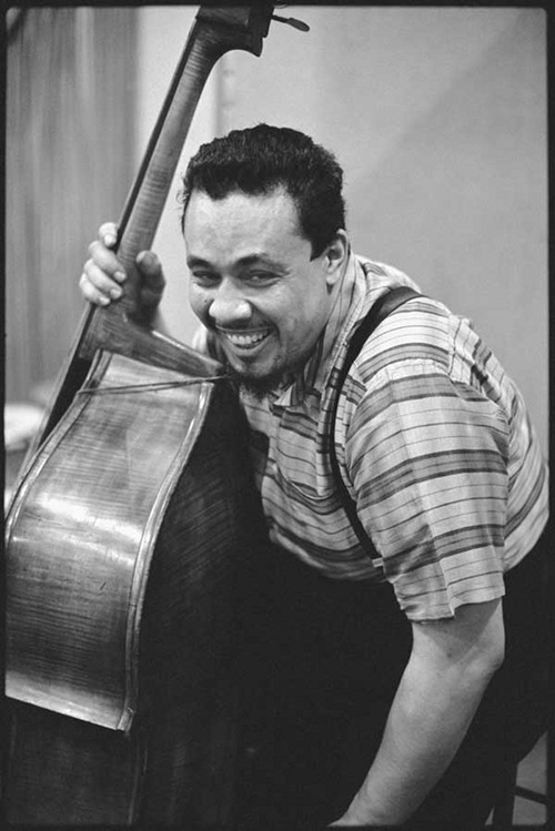 mybutbeautiful:  CHARLES MINGUS (photo by Don Hunstein) Happy Birthday!
