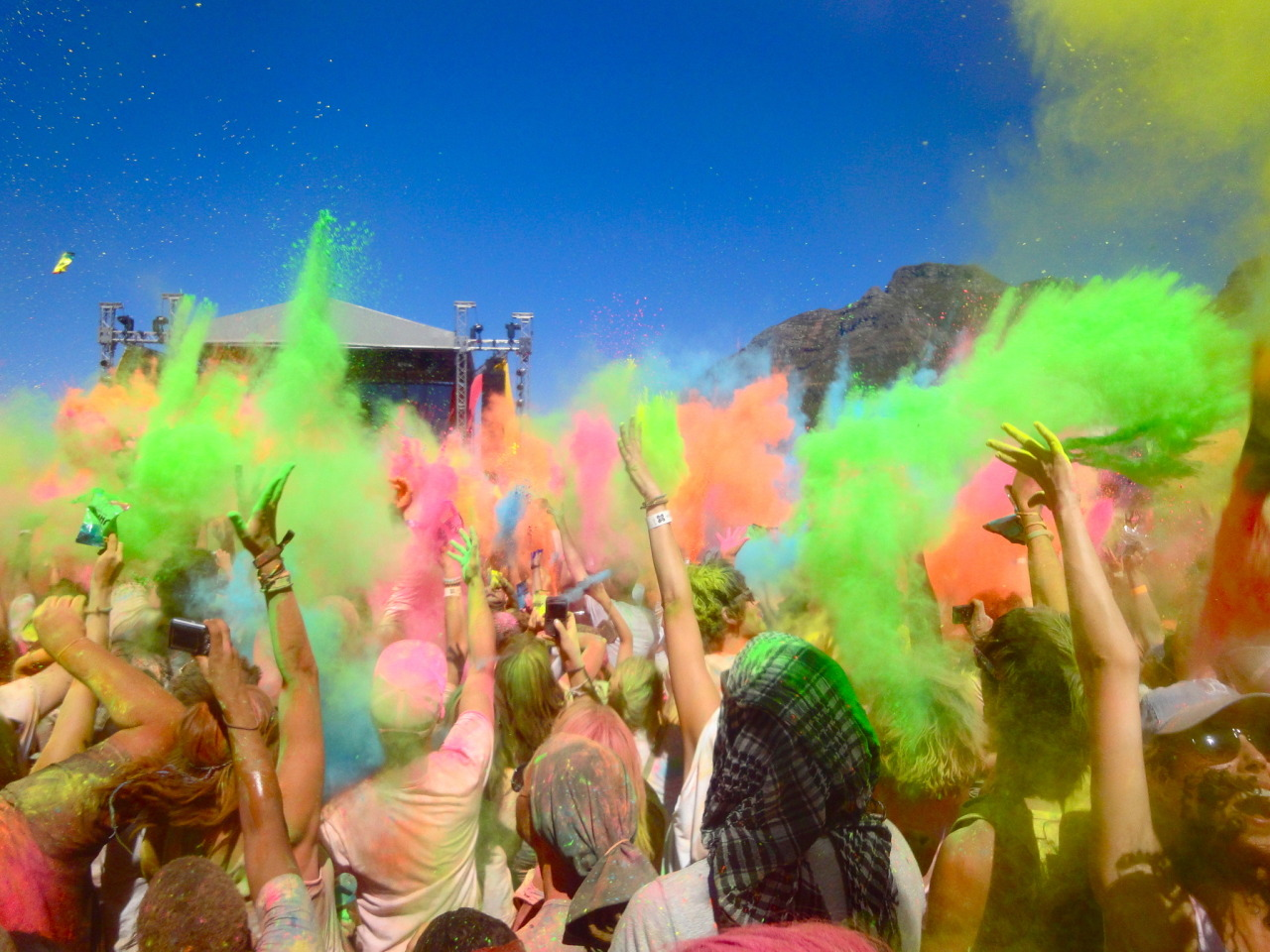 Cape Town Holi One Colour Festival