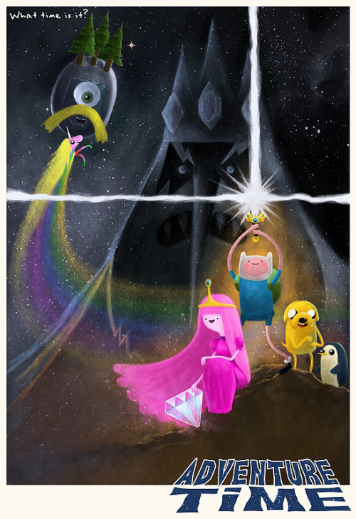 lulubonanza:  Adventure Time by ~Hado-Land