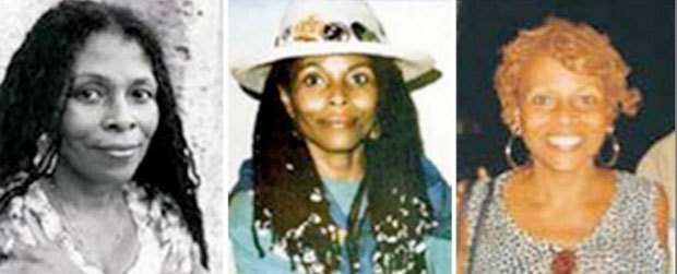 Escaped 1973 cop killer and aunt of rapper Tupac Shakur is first woman added to FBI most-wanted terrorist listThe aunt of dead rapper Tupac Shakur has become the first woman added to the FBI most-wanted terrorist list.The reward was today doubled to $2-million for Joanne Chesimard, the Black Liberation Army militant who fled prison for Cuba after being convicted of killing a New Jersey state trooper in 1973,The Federal Bureau of Investigation is still offering US $1-million for information leading to Chesimard's capture, and New Jersey is adding another U.S. $1-million, state Attorney General Jeffrey Chiesa said today, the 40th anniversary of the killing.