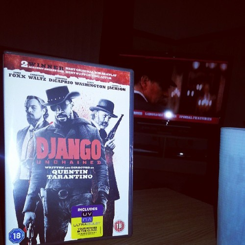 My night is better than yours. Django, Russian Standard Vodka and @janeysuicide.