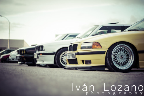 Ye olde bimmer Starring: BMW E30 and E46 (by Iván Lozano)