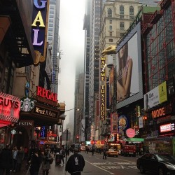 Early morning #TimesSquare Loved waking up in NYC