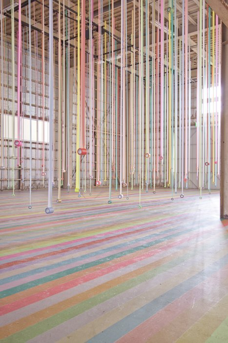 Artist Koji Iyama has been staging installations across Japan to promote the multifunctional uses of Mt-Masking Tape. Check out Unknown Editors! (FB)