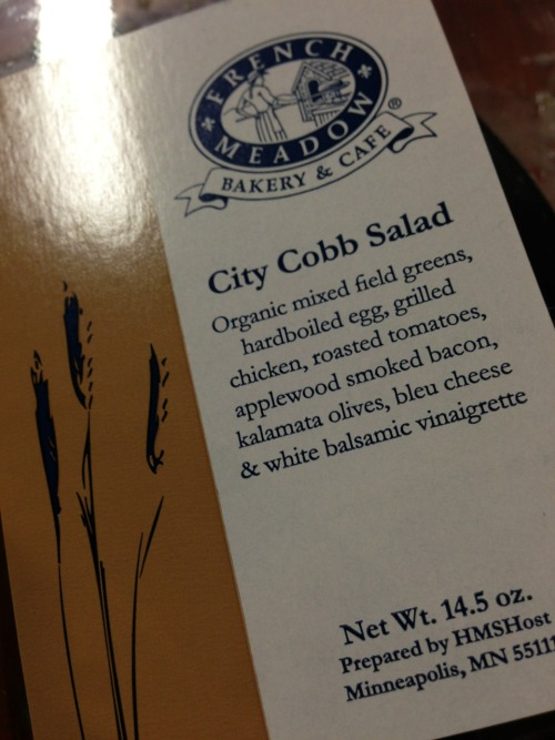 "What makes this a ""city"" Cobb salad is that it cost $13.08."