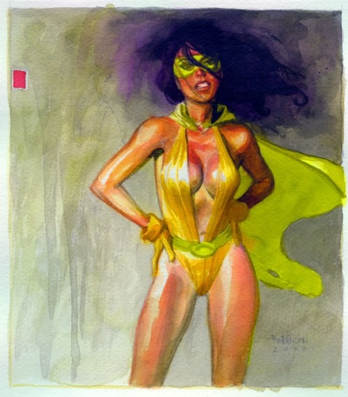comicbookwomen:  Excellent piece by Andrew Robinson.