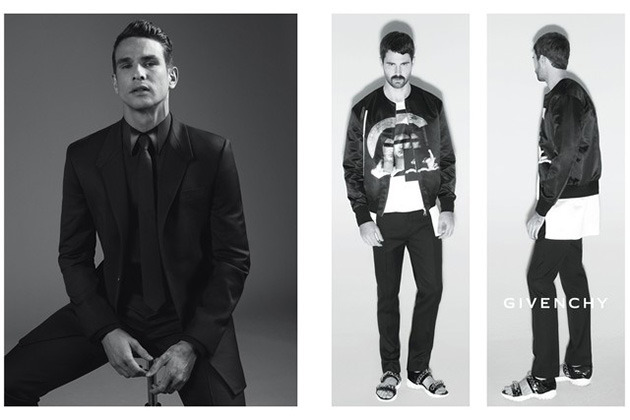 anchordivision:  Givenchy Unveils Spring-Summer 2013 Campaign Today Givenchy has unveiled first images of its upcoming Spring/Summer 2013 Men's Campaign. Creative director Riccardo Tisci explains that the new campaign is all about friends and family and as such he features Kate Moss, Marina Abramovic, Mariacarla Boscono, Jose Maria Manzanares, Jared Buckhiester and Francisco Peralta. The full campaign will be unveiled in January in L'Uomo Vogue. The campaign was photographed by Mert Alas and Marcus Piggott, styled by Carine Roitfeld and laid out by graphic design duo M/M.  The minute I see that Marina ad. Im going to die.