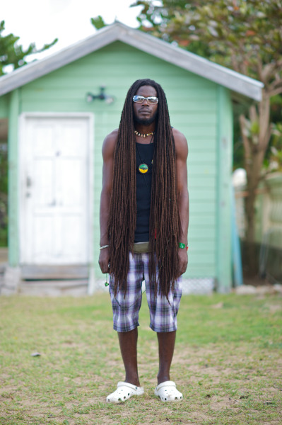 glynncocoa:  Taken from Karen Blanchard's blog. Traci B., this dread head is for you!