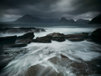 lensblr-network:  Edition Prints - A blustery view of the Cuillins, across Loch Scavaig from Elgol. Isle of Skye. by juliancalverley.tumblr.com