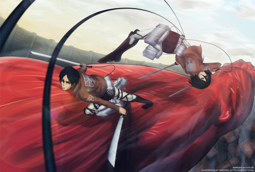 Attack On Titan By Marfey
