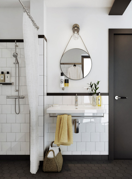 bathroom essentials (via Yellowtrace)