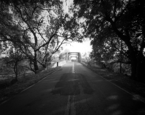 roadwork large format pinhole, Lensless Camera, Tri-X Pan, Rodinal - Eric Engelhard