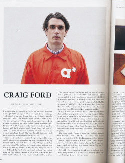 lydiagarnett:  Craig Ford for Hypebeast Magazine Issue #3