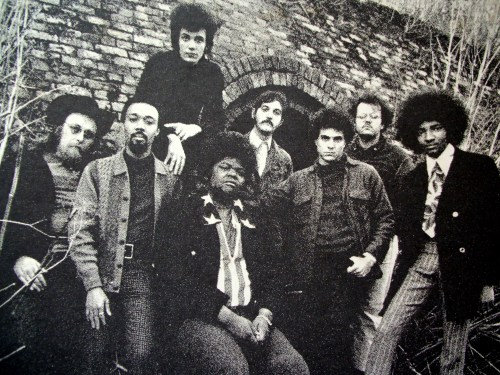 The Electric Flag were a San Francisco-based blues & soul & rock group formed in 1967 by guitarist Mike Bloomfield with notable members such as Buddy Miles (of Hendrix's Band of Gypsy's) and keyboardist Barry Goldberg. Their first release was a soundtrack to The Trip, about a LSD experience of Peter Fonda's, written by Jack Nicholson. We've been jamming this vinyl a lot in our store - we hope you enjoy it, too!