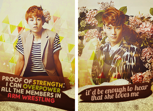 COMPILATION: EXO QUOTES FROM CECI