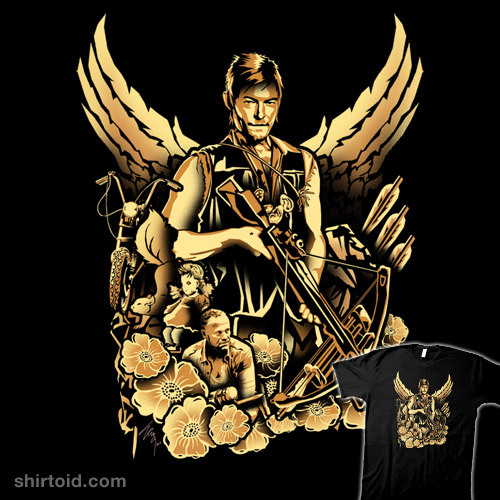shirtoid:  Dixon by Tracey Gurney is $11 for a limited time at OtherTees