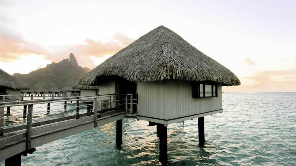 Anyone else want to escape to an overwater bungalow in Bora Bora? (via Overwater Bungalow : Daily Escape : Travel Channel)