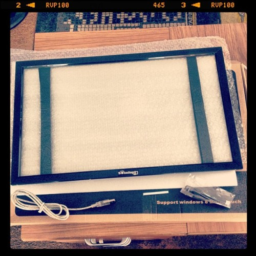 Just had this turn up for review from @soladapt - a touchscreen overlay -
