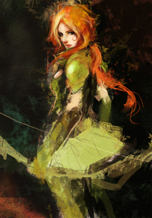 riseofthelegend:  Windrunner by *muju