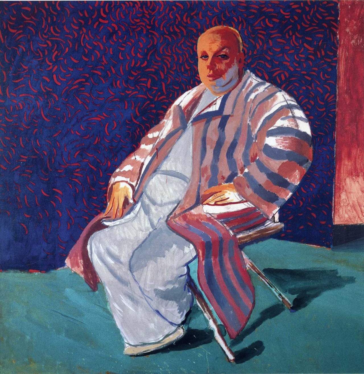 David Hockney, Divine, 1979 acrylic on canvas, 60 × 60 inches Download Image Visit Source @ didgiwidgiphotography.blogspot.ca