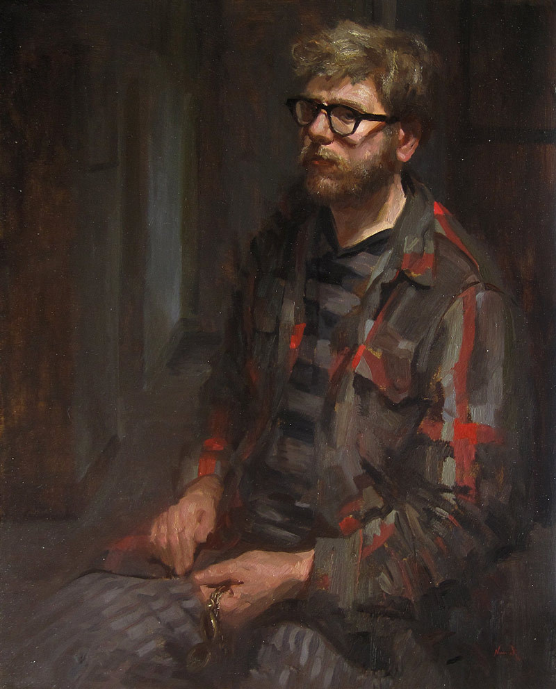 Self Portrait in the Apartment by ~Adam-Nowak