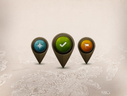 Map Markers by Rob Soulé