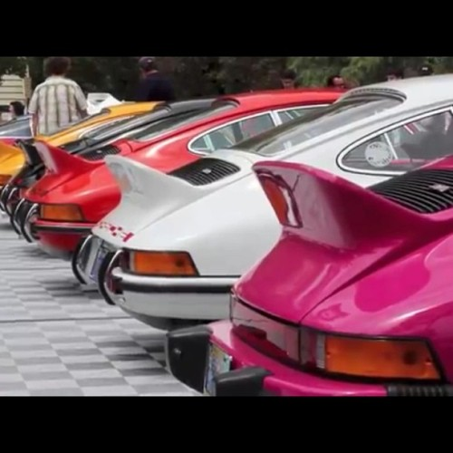 …in a row #Porsche #GreystoneConcours #RS #BHP  (at Greystone Mansion & Park)