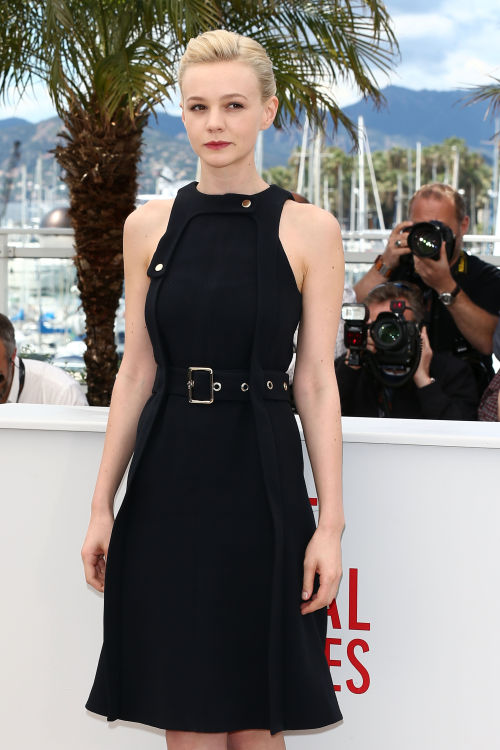 Carey Mulligan in Chloé @ 'Inside Llewyn Davis' Cannes Photocall