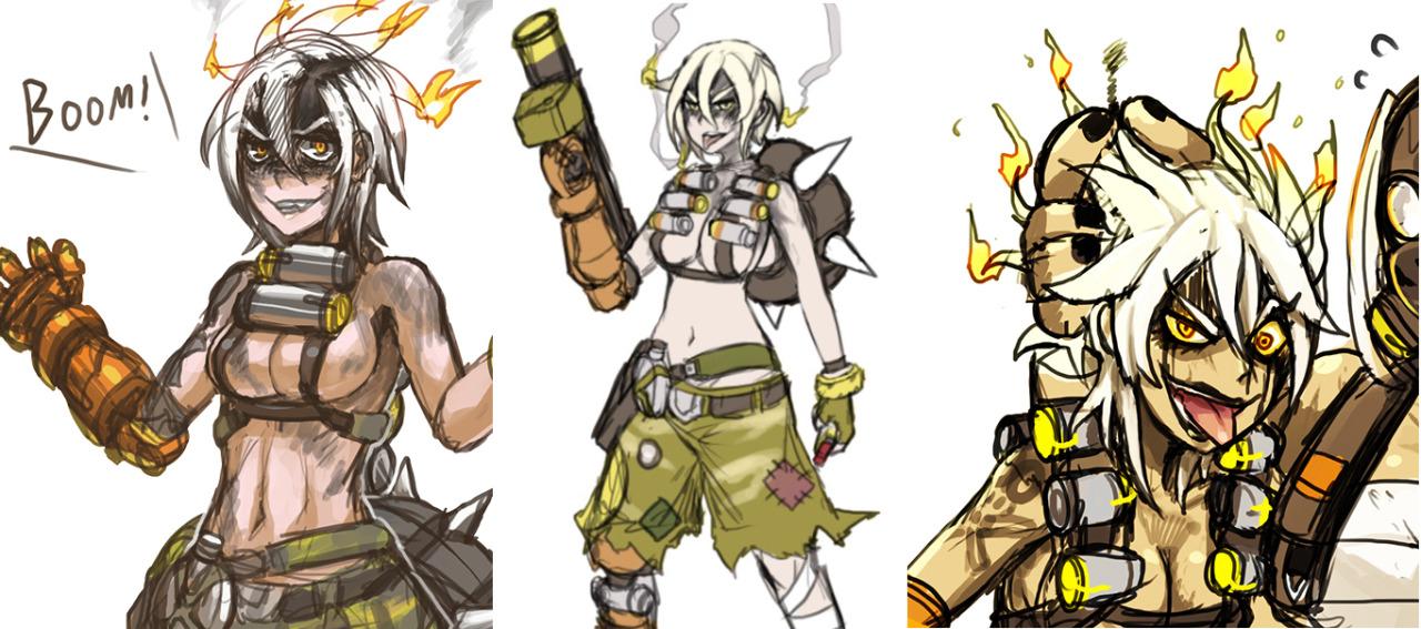Female Hanzo : Overwatch