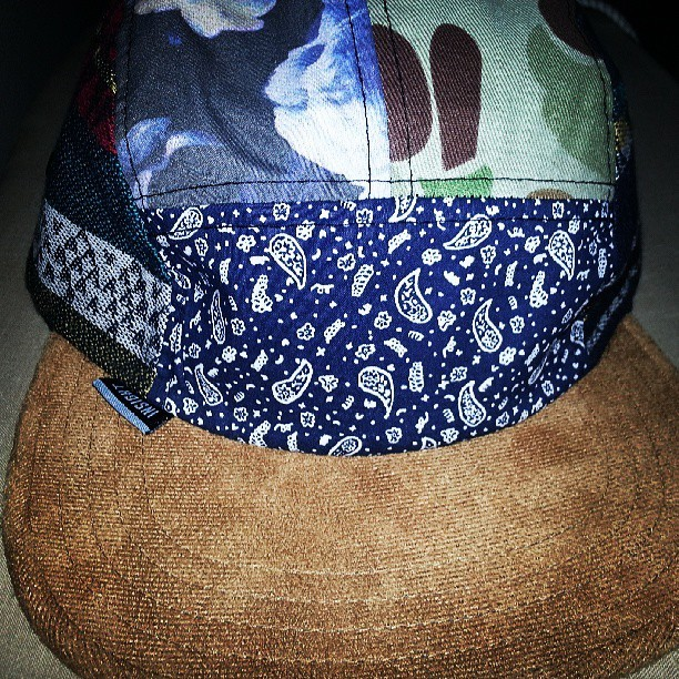 New purchase.  #notnormallyahatperson #printonprintonprint #cap #swag #apparel #headcover