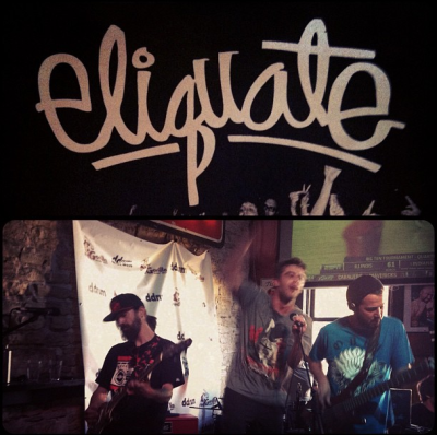 bearlanguage:  Our buddies Eliquate at SXSW. #keepitinthefamily