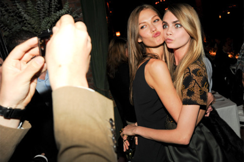 aeale:  Karlie and Cara!