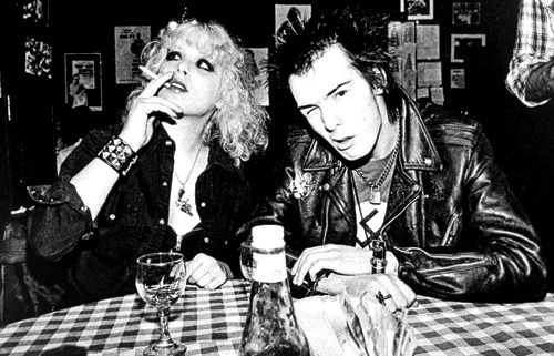 vintagegal:  Sid Vicious and Nancy Spungen