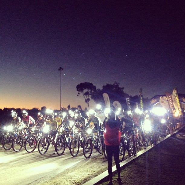 pedalfar:  Photo courtesy @adele_ormando #alicesprings #icme #nightstage | Cycling Tips