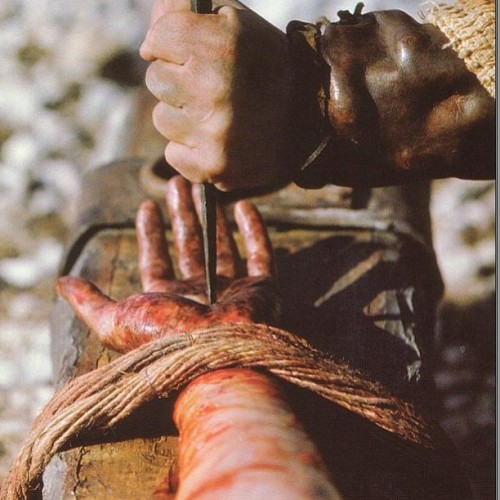 """by his wounds, we are healed"""