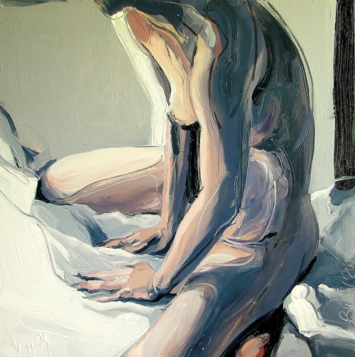 faery-nymph:  Robert Bubel, Morning. Nude