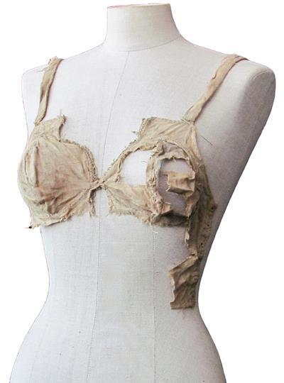 "Archeologists just discovered a bra that's 500 years older then any bra we've ever seen, but we're kind of hung up on them referring to it as a ""breastbag."""
