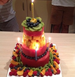 whovianprincessgetfit:  fabulous-fitblr:  A fitblrs birthday cake is the best birthday cake.  OMG YES I WANT THIS!   AW
