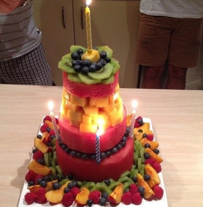 fitinyourdreams:  My dream birthday cake